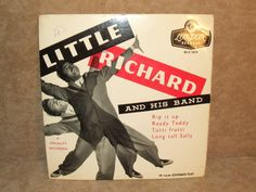 """Little Richard And His Band Rip It Up 7"""" EP Tri Centre Picture Sleeve"""
