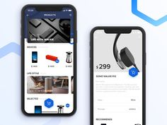 E-commerce UI