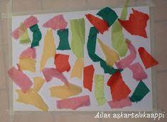 Askartelukaappi: Silkkipaperilla maalaaminen Flag, Kunst, Science