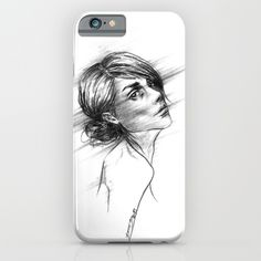 #phonecase #woman #female #portrait #art #emotion #drawing #blackandwhite