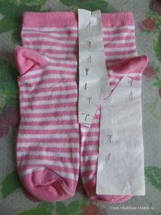 Простой мастер-класс - полувер для кукол МСД / Мастер-классы, творческая мастерская: уроки, схемы, выкройки кукол, своими руками / Бэйбики. Куклы фото. Одежда для кукол