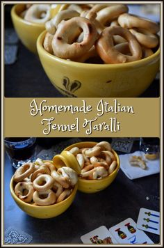 These Homemade Italian Fennel Taralli da Tavola di Filomena can be described as being a crunchy and addictive snack food. You are definitely in for a treat!