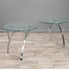 Shop Best Selling Home Decor  Marin Round Glass End Table (Set of 2) at Lowe's Canada. Find our selection of end tables at the lowest price guaranteed with price match + 10% off.