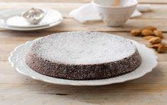 Preparazione Torta caprese - Fase 3 Ricotta, Italian Desserts, Nutella, Muffins, Cheesecake, Pudding, Lunch, Chocolate, Baking