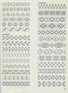64 super Ideas for knitting patterns fair isle colour Fair Isle Knitting Patterns, Fair Isle Pattern, Knitting Charts, Loom Patterns, Knitting Stitches, Knitting Socks, Knitting Machine, Free Knitting, Tejido Fair Isle