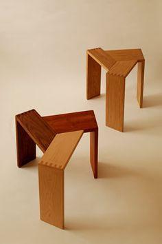 Sansa stool by by koizumi studio
