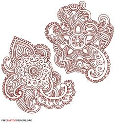 love this swirly paisley pattern for possible tattoo idea.