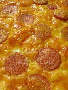 μικρή κουζίνα: Ομελέτα φούρνου Cookbook Recipes, Keto Recipes, Cooking Recipes, Brunch, Food And Drink, Pizza, Yummy Food, Stuffed Peppers, Dinner