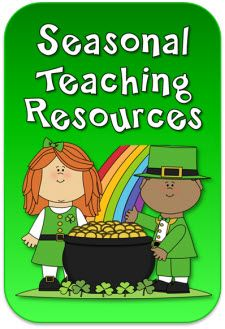 Seasonal Teaching Resources on LauraCandler.com - Newly updated with activities for March