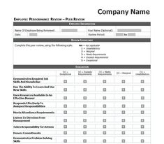 Appraisal Templates Simple How To Give An Effective Employee Evaluation 11 Steps  Ehow .