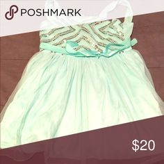 Girls mint green dress like new Only worn once Amy Byer Dresses Formal