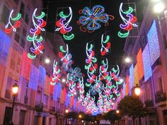 Amazing Light Displays At Las Fallas Festival From Valencia
