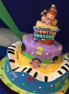 Fiesta Tematica Mini Beat Power Rockers Boys 1st Birthday Party Ideas, 1st Boy Birthday, Rocket Power, Baby Rocker, Jamel, Rockers, Party Themes, Baby Shower, Baby First Birthday