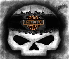 Harley Davidson Wallpapers Screensavers Wallpaper Fan Willie Skull Figured Put