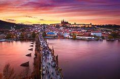 Ponte Carlos - Praga (República Tcheca)