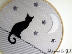 Embroidery Designs Photoshop past Embroidery Kits Near Me unless Embroidery Guild other Embroidery Machine Miami Fl below Embroidery Equipment Embroidery Hoop Art, Crewel Embroidery, Cross Stitch Embroidery, Embroidery Patterns, Quilt Stitching, Cross Stitching, Cat Crafts, Sewing Crafts, Crazy Quilt Stitches