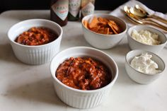 This smoky and spicy chili is a STAPLE in our place when the weather turns cool. either way, enjoy when you are in a pinch for lunch or dinner! Spicy Chili, Turkey Chili, Tasty, Yummy Food, How To Double A Recipe, Weeknight Meals, Frozen, Soup, Lunch