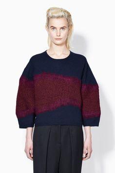 3.1 Phillip Lim  Felt on knit