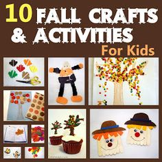 Fall Preschool Activities - to use when I need extra activities