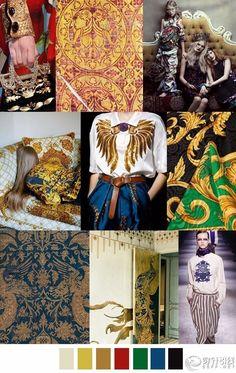 灵感 | 各式图案/花纹/色彩趋势收集(多图) - 流行色-流行趋势 - 穿针引线服装论坛