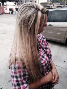 When blonde goes to fall.  BY: Jordyn Mae