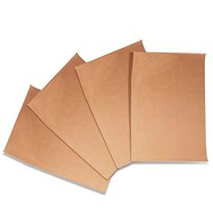 Set of 4 Premium NonStick Baking Mats and Cookie Sheets  Tan 1575 x 13 *** Visit the image link more details.