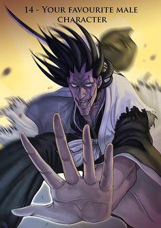 : Favourite male character - Zaraki Kenpachi by Rakjah on DeviantArt Kenpachi Zaraki, Creativity, Animation, Deviantart, Explore, Cat, Manga, Artist, Artwork