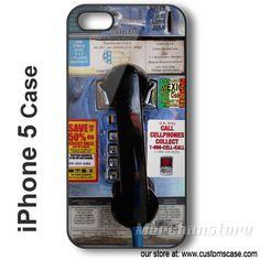 iPhone 5 Case Public Phonebooth - Hard iPhone Cover Landline Phone, Public, Iphone Cases, Cover, Iphone Case, I Phone Cases