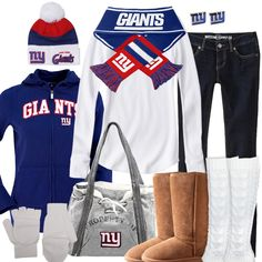 New York Giants Winter Fashion