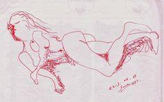 Bernardo Santiago Angeles - Jeune femme couchée