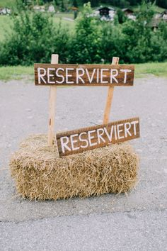 weddingcar Reserviertschild