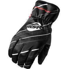 2016 MSR Windbreaker Gloves - Black