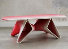 3ders.org - French startup 3D prints your furniture using large-scale 3D printer | 3D Printer News & 3D Printing News