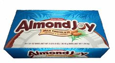 Almond Joy Candy Bars are a must for those who love chocolate, coconut and almonds