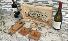 Personalized Celebration Bundle - Bundle and save - Gather all of your party supplies Personalized Wine Bottles, Personalized Gifts, Magnetic Bottle Opener, Christmas Gifts, Holiday, Wedding Couples, House Warming, Party Supplies, Bridal Shower