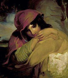 Thomas Sully - The Gypsy.