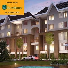 La Cabana - 2 & 3 BHKD by Sigma One Landmarks at Sus, Pune To know more Visit: http://www.puneproperties.com/la-cabana-flats-sus.html #PuneProperties #FlatsinPune #ApartmentsinPune #FlatsinSus #ApartmentsinSus