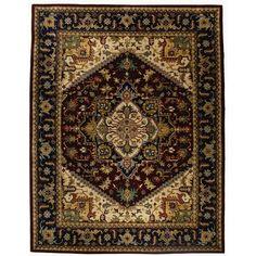 Safavieh Handmade Heritage Red Wool Rug (8' x 10') - Overstock Shopping - Great Deals on Safavieh 7x9 - 10x14 Rugs