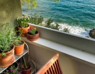 #terrace on the #beach #seaview #summer www.ginestreblu.com #trieste #italy