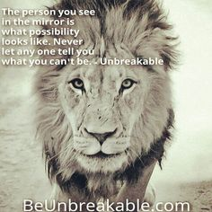 It all comes down to what YOU think. Have an #unbreakable day! Get to smooving! Smile & keep it moving.  #Beunbreakable #possibilty #confidence