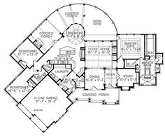 Shoni Lane Cottage - One Story House Plans. Dream house layout. Just enough space. *s