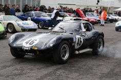 Another rare entrant in the Graham Hill Trophy was Ian Burford's 1964 Cheetah Chevrolet. Built by Bill Thomas Race Cars of Anaheim, California the Cheetah was to be Chevrolet's answer to the Ford powered Cobras.