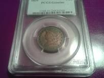 PCGS 1835 1/2 Cent Uncirculated Details! $5 Off! And free shipping! Last chance and back to the safe!