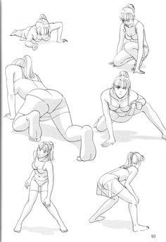Learn To Draw Manga - Drawing On Demand Drawing Female Body, Body Reference Drawing, Human Figure Drawing, Art Reference Poses, Female Drawing Poses, Female Pose Reference, Anatomy Sketches, Anatomy Drawing, Manga Drawing