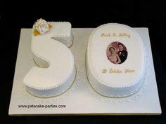 50th Wedding Anniversary Cake Idea