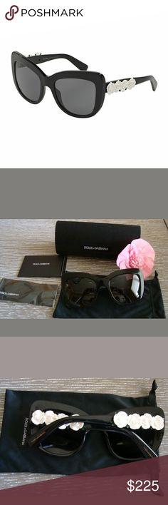 bce212d1d222 Sunglasses Like new Dolce and Gabbana polarized sunglasses with case Dolce    Gabbana Accessories Sunglasses