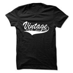 Vintage since 1940 Tshirt