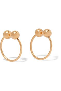 Gold-tone Earrings - one size J.W.Anderson Ta8TF