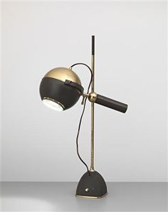 Oscar Torlasco table lamp, 1950.