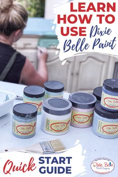 refinishing furniture How to Get Started with Dixie Belle Paint - Dixie Belle Paint Company Chalk Paint Projects, Chalk Paint Furniture, Furniture Makeover, Diy Furniture, Rustic Furniture, Antique Furniture, Simple Furniture, Furniture Refinishing, Furniture Market